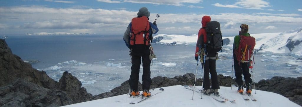 The Alpine Ski Club offers grants for ski mountaineering expeditions to remote regions, such as Antarctica
