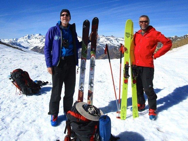 trans ski mountaineering pyrenees traverse 2020