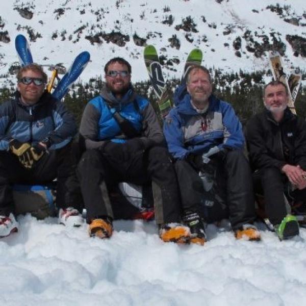 10 Four happy faces, BB (before bush-whacking). Photo RU