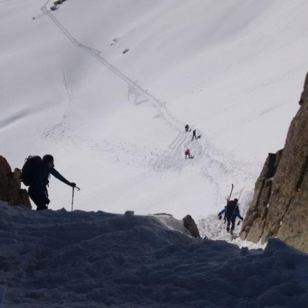 17. Steep gully