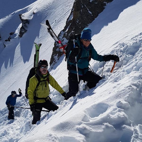 Declan and Phillipa on the final climb.jpg